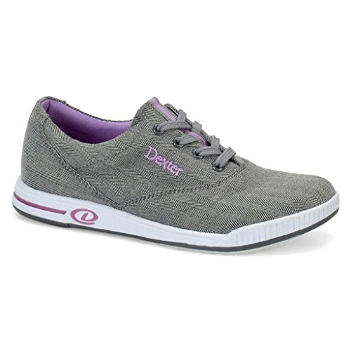 Dexter Damen Kerrie Bowlingschuhe, Damen Herren, Grey Twill - Dexter Schuhe Frauen