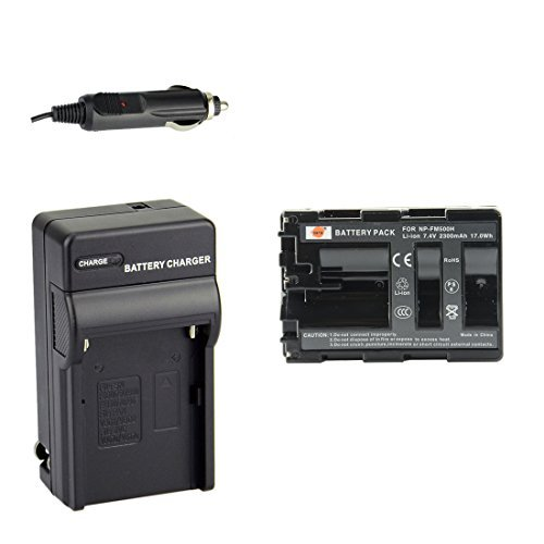 DSTE NP-FM500H Battery + DC01 Travel and Car Charger Adapter for Sony Alpha SLT A77V A77II A350 A450 A500 A550 A700 A850 A900 CLM-V55 DSLR Camera as NP-FM500  available at amazon for Rs.2649