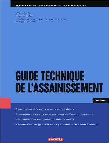 Guide Technique de l'assainissement, 2e édition