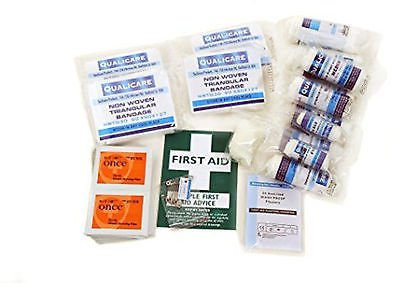 Medizinische Nachfüllen (10 Personen HSE Arbeitsplatz Medizinische Erste-Hilfe-Ausrüstung - Nachfüllen (50 Stück Kit))