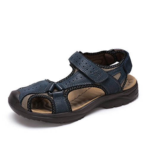 camel-mens-closed-toe-athletic-leather-sandal-color-blue-size-38-m-eu