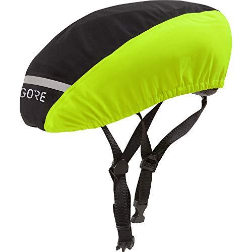GORE WEAR C3 Helmüberzug GORE-TEX, Größe: 60-64, Farbe: Schwarz/Neon-Gelb