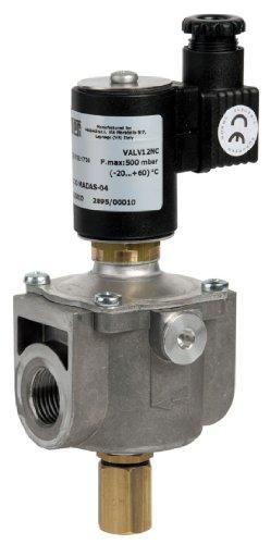 Elettrovalvola per intercettazione di gas a riarmo manuale VALV-12NC Attacco Rp 1/2