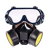 Provide The Best Carbone Attivo Polvere Maschera respiratoria Set Anti-Polvere Anti-Fog Mascherina...