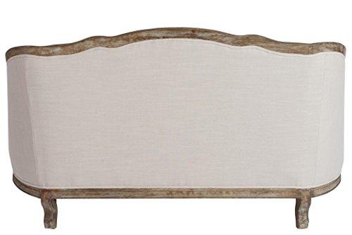 Jolipa-60002-Sofa-mit-Kissen-2-Personen-Holz-Eiche-Beige-154-x-77-x-91-cm