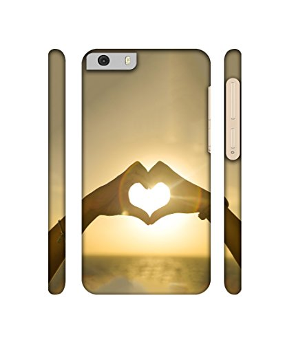 Casotec Love Designer 3D Printed Hard Back Case Cover for Micromax Canvas Knight 2 E471