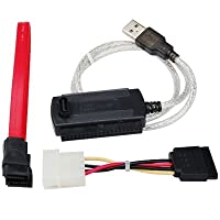 TRIXES 2.5/3.5 SATA IDE to USB Adapter Cable for Hard Disk HDD