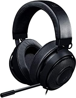 Razer Kraken Pro V2 Oval Cuffie da Gaming Analogiche Over-Ear per PC, Driver Audio da 50 mm e Struttura in Alluminio per Elevata Durata, Nero (B01MF4V3LO) | Amazon price tracker / tracking, Amazon price history charts, Amazon price watches, Amazon price drop alerts