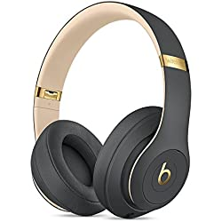 Beats by Dr. Dre Beats Studio3 - Auriculares (Inalámbrico y alámbrico, Diadema, Binaural, Supraaural, 260 g), Oro/Gris