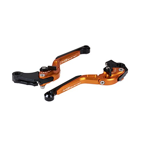 MG Kupplungshebel + Bremshebel orange klappbar & verstellbar mit ABE KTM 125 Duke ABS 4T 14-16
