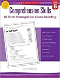 [Comprehension Skills: 40 Short Passages for Close Readings, Grade 6] (By: Linda Ward Beech) [published: May, 2012]