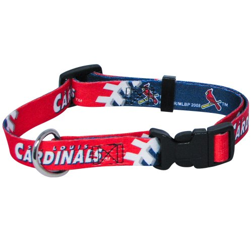 hunter-mfg-st-louis-cardinals-dog-collar-large-by-mlb