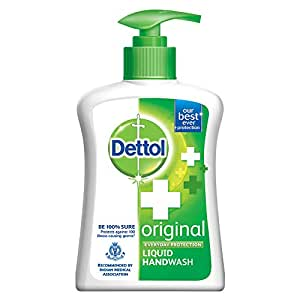 Buy Dettol Original Germ Protection Handwash Liquid Soap Pump