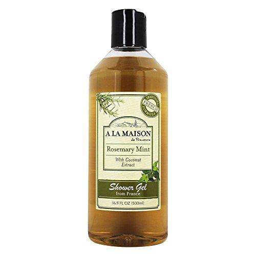 Bath & Shower Liquid Soap, Rosemary Mint - A La Maison de Provence