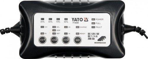 YATO YT-8300 - DIGITAL DE LA BATERIA DEL CARGADOR 4A