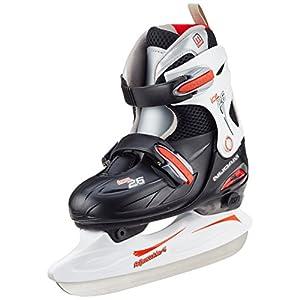 Nijdam Kinder Eishockey Schlittschuhe Größenverstellbar