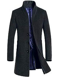 Vogstyle Uomo Sottile Caloroso Cappotto Invernale di Lana(XS-XL) b40bb26d0c6