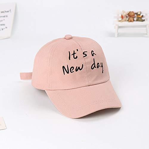 New Baseball Cap Cap im Freien Sonnenschirm Kind Hut Baby Sonnenhut männliche und weibliche Kinder Flut Hut beige 50-52cm geeignet -