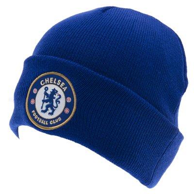 Chelsea FC. Blau Gestrickt Bronx Hut