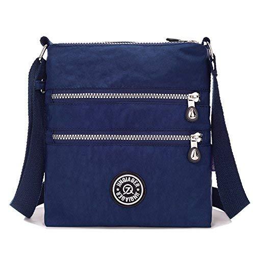 Outreo Umhängetasche Damen Schultertasche Leichter Messenger Bag Reisetasche Wasserdicht Taschen Designer Kuriertasche Mode Sporttasche für Mädchen