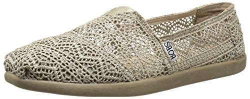Skechers Bobs World Dream Catche- Scarpa Donna Taupe Horses