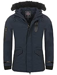 Geographical Norway - Parka Homme Geographical Norway ADN Marine