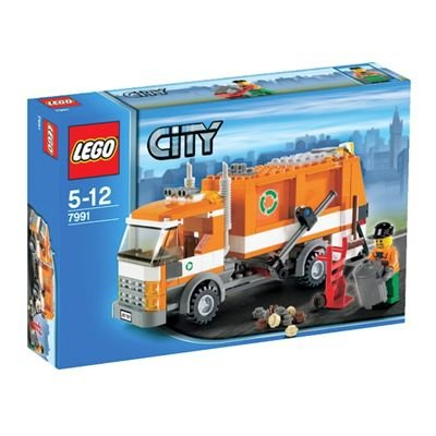 LEGO-City-7991-Garbage-Truck