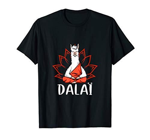 Dalai Lama Kostüm - Dalai Lama Yoga Meditation Alpaka Geschenk T-Shirt T-Shirt