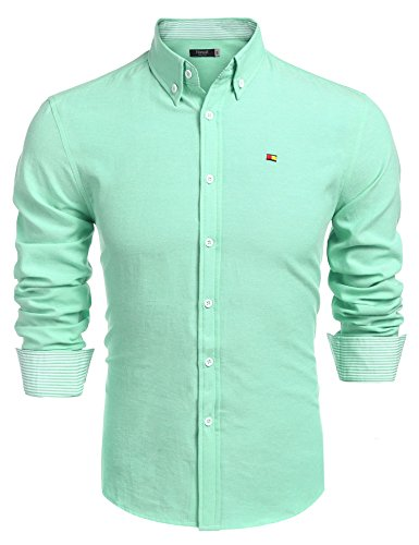 Hasuit Men's University Shirt - Oxford