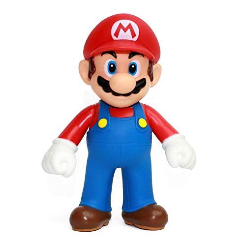 Zhijie-wanju Super Mario Action Figure Mario bros Kuchen Dekoration Auto Dekoration Anime Modell ( Color : A )