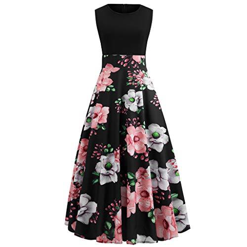 BOLANQ Damen Kleid Retro 1920er Stil Flapper Kleider Mit Zwei Schichten Troddel V Ausschnitt Great Gatsby Motto Party Kleider Damen KostüM ()