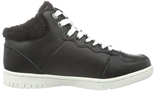 Pepe Jeans London Lindsay, Baskets Alte Donna Nero (noir (999noir Noir))