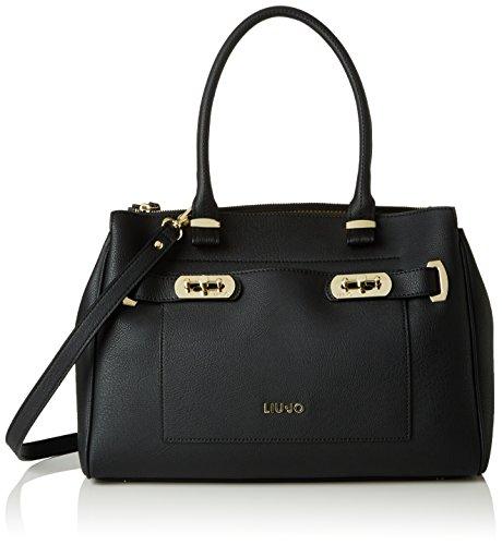 Liu Jo Ninfea Shopping L Black Stone Grey