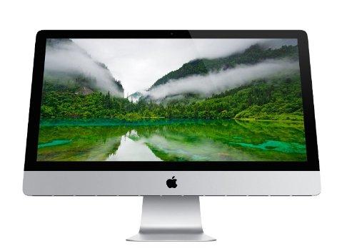 Apple iMac MD093F/A Ordinateur Tout-en-un 21,5' (54,6 cm) Intel core i5 2.7 GHz 1 To 8192 Mo Nvidia GeForce GT 640M OS X Mountain Lion Noir/Blanc