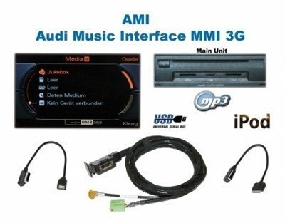 Audi AMI MMi 3G Audi Music Interface USB iPod iPhone Set