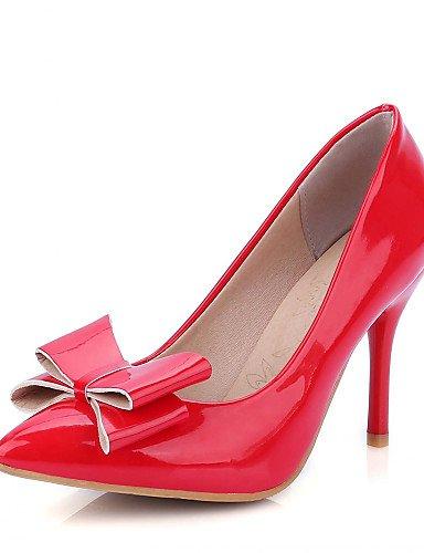 GS~LY Da donna / Da uomo / Per bambina-Tacchi-Ufficio e lavoro / Formale / Casual-Tacchi-A stiletto-Finta pelle-Nero / Rosso / Bianco / Beige black-us10.5 / eu42 / uk8.5 / cn43