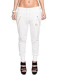 CHICK REBELLE - Pantalon -  - Relaxed - Uni Femme