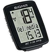 Sigma Sport Bc 7.16 Ats - Ciclocomputador, color negro, talla única