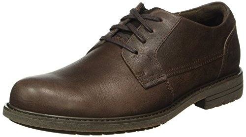 Cat Cason - Scarpe Derby Uomo, Marrone (Coffee Bean), 45 EU
