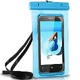 ONEFLOW Wasserdichte Hülle für Nokia | Full Cover in Blau 360° Unterwasser-Gehäuse Touch Schutzhülle Water-Proof Handy-Hülle für Nokia 3310 Asha 300 8110 4G 230 105 UVM Case Handy-Schutz