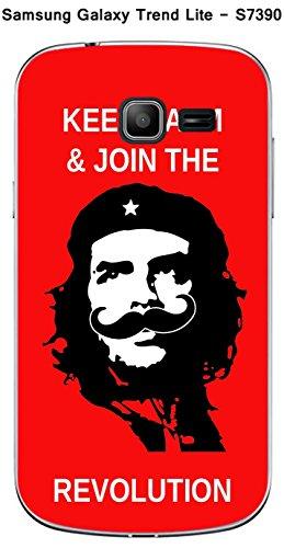 Coque Revolution Moustache pour Samsung Galaxy Trend Lite S7390
