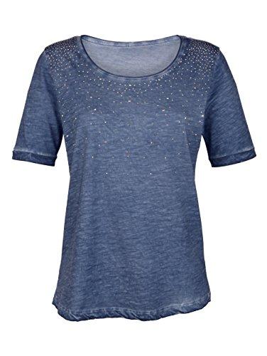 Damen Shirt mit Ziersteinen by Laura Kent Denim