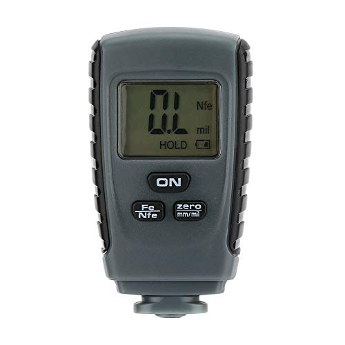 DyNamic Rm660 Digital Coating Thickness Gauge 0-1.50Mm Car Paint Thickness Meter Paint Thickness Tester Lcd Display Thickness Measurement Tool (Thickness Paint Tester)
