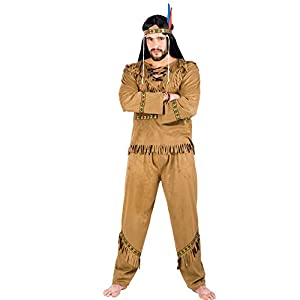 Carnival Juguetes 83289 - indio para hombre Disfraz
