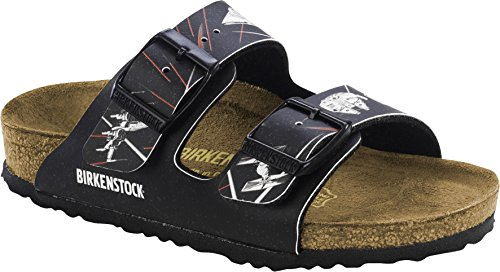 Birkenstock Arizona, Mules Garçon Mehrfarbig (Star Wars space Black)