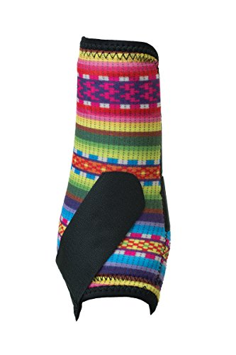 Weaver Leder 35-4297-p17Prodigy Athletic Stiefel, Vier Pack, Fiesta Sarape, mittel