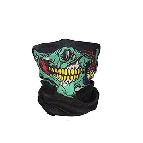 r Multifunktions-Stirnband Schädel-Bandana-Sturzhelm-Ansatz-Gesichtsmaske-thermischer Schal-Halloween-Stützen (Halloween-stirnbänder)
