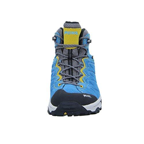 Meindl Chaussures de marche et de randonnée pour garçon Türkis ocker/Turquoise Turchese - Türkis/ocker