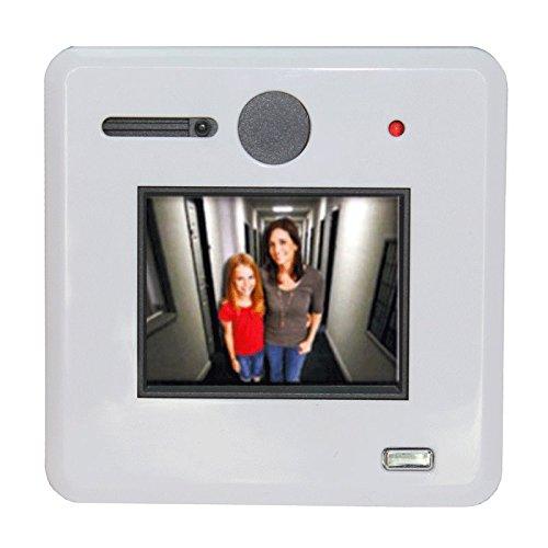 Mirilla Digital y óptico pantalla 6.09cm–ángulo de visión 170°