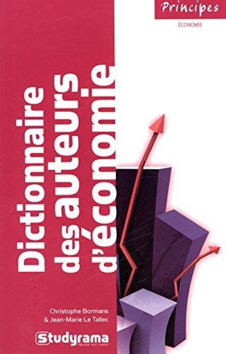 Dictionnaire des auteurs d'économie
